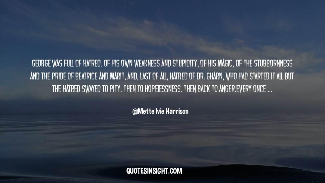 Emotional Balance quotes by Mette Ivie Harrison
