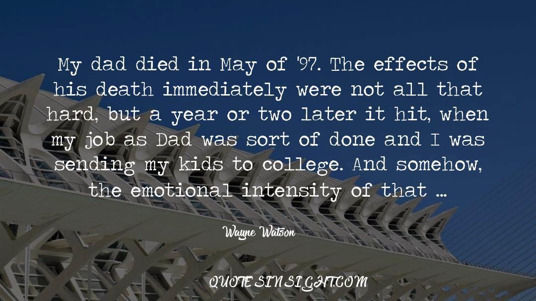 Emotional Balance quotes by Wayne Watson