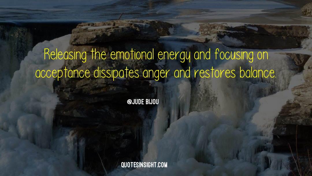 Emotional Balance quotes by Jude Bijou