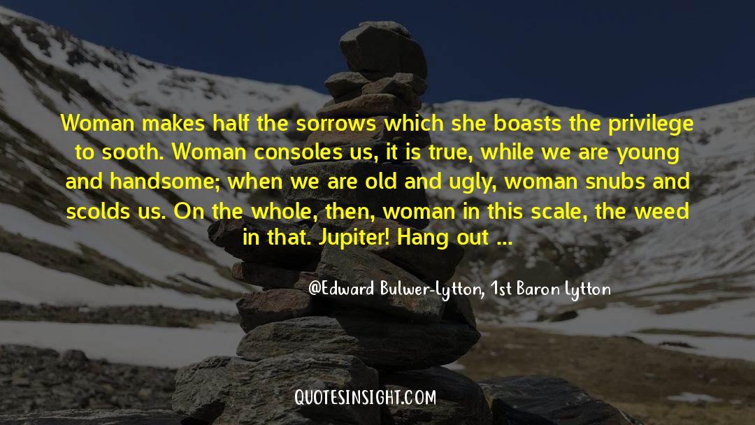 Emotional Balance quotes by Edward Bulwer-Lytton, 1st Baron Lytton