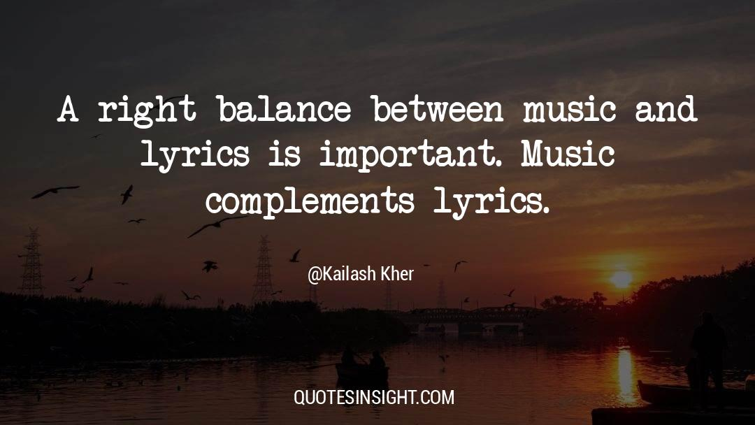 Emotional Balance quotes by Kailash Kher