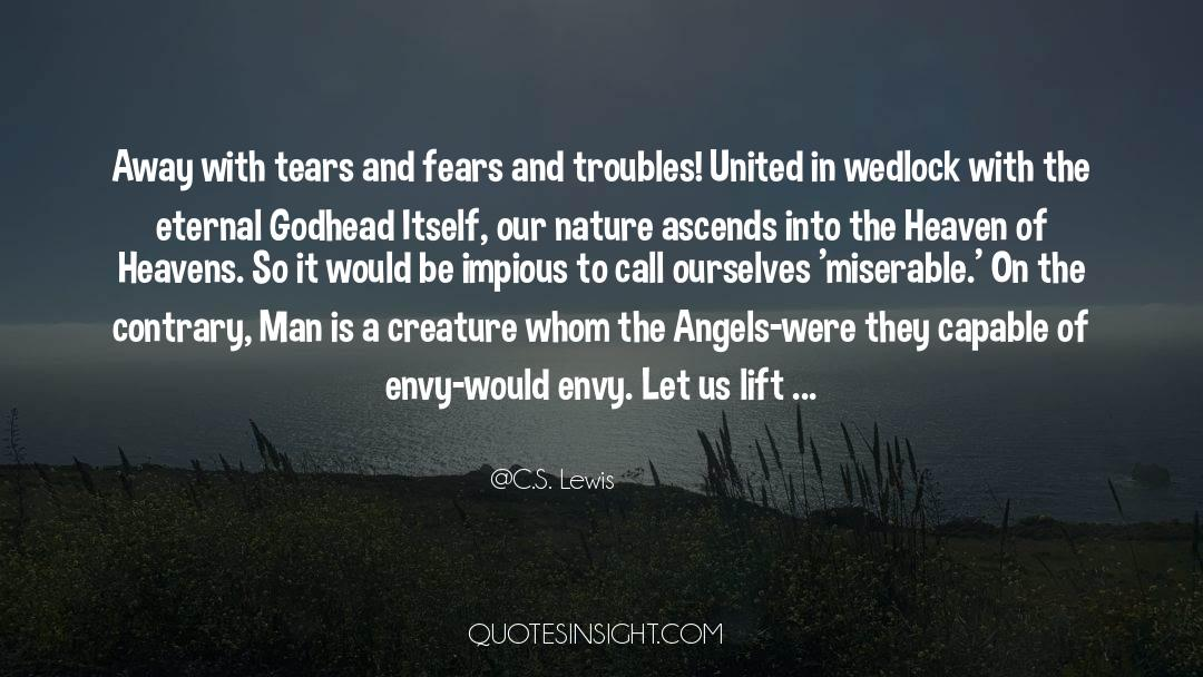 Fallen Man quotes by C.S. Lewis