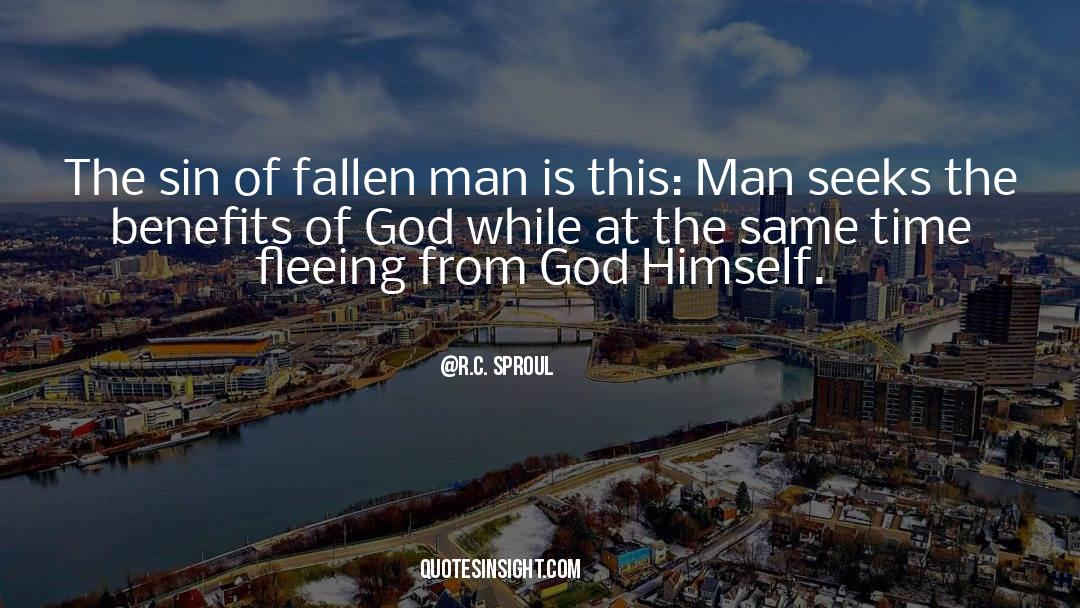Fallen Man quotes by R.C. Sproul