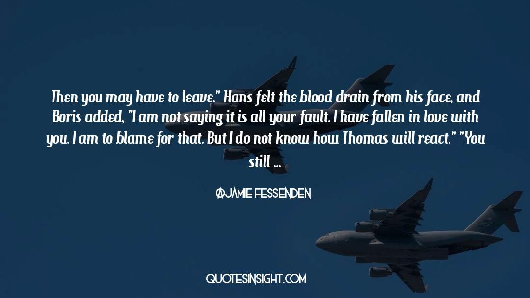 Fallen Man quotes by Jamie Fessenden