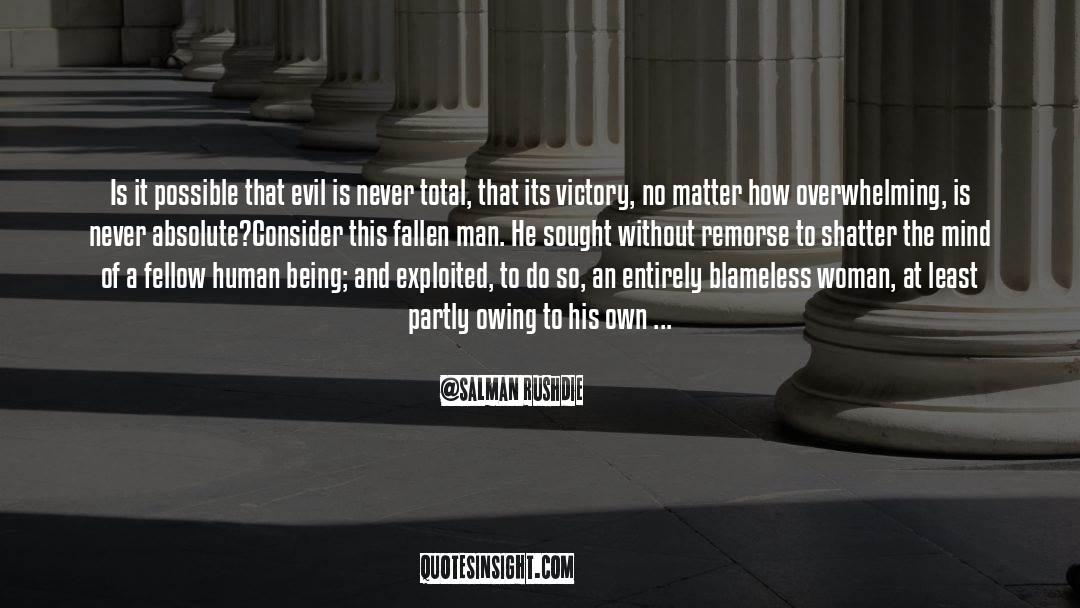 Fallen Man quotes by Salman Rushdie