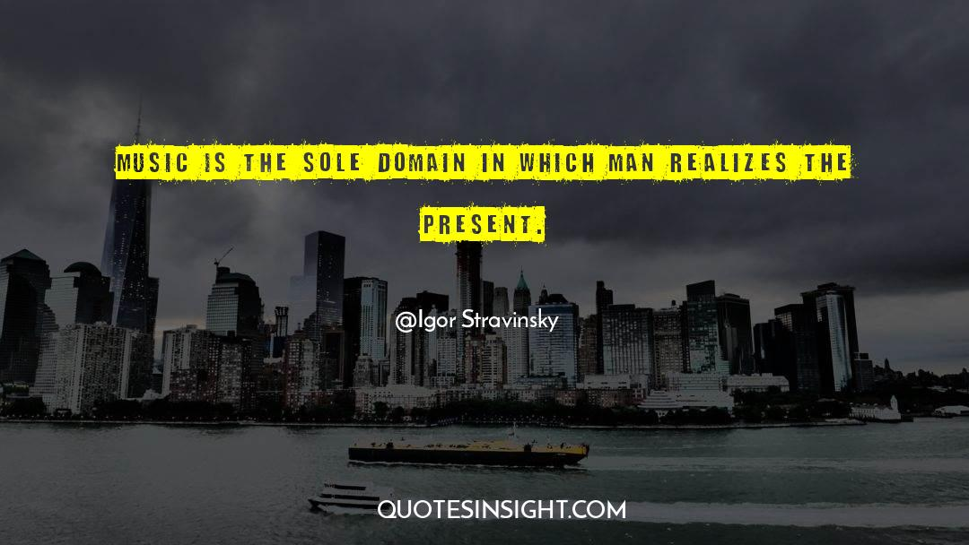 Fallen Man quotes by Igor Stravinsky