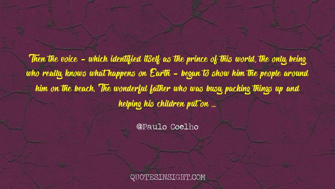 Fallen Man quotes by Paulo Coelho