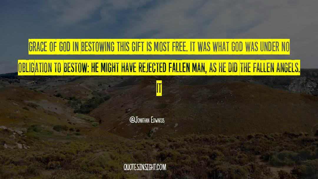 Fallen Man quotes by Jonathan Edwards