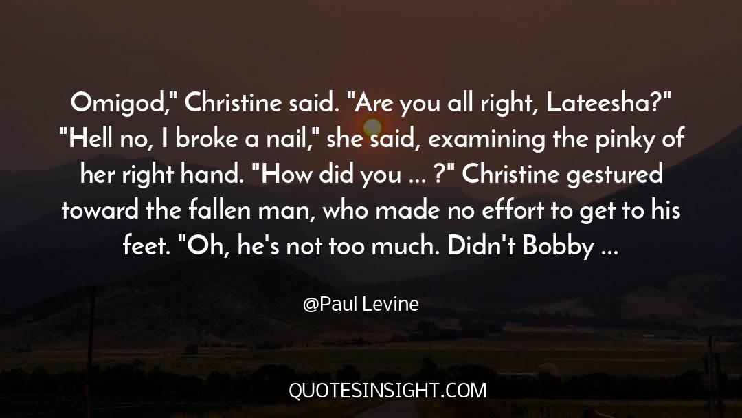Fallen Man quotes by Paul Levine