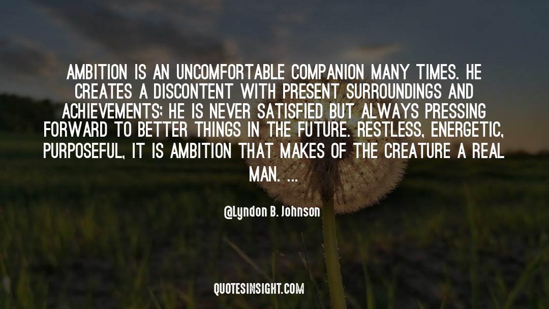 Fallen Man quotes by Lyndon B. Johnson