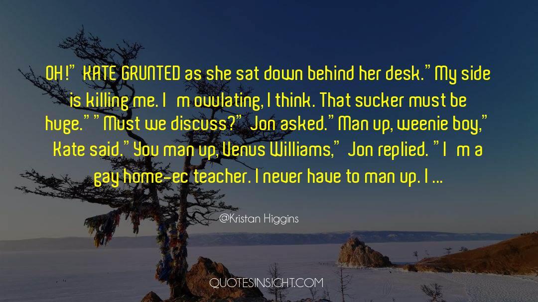 Fallen Man quotes by Kristan Higgins
