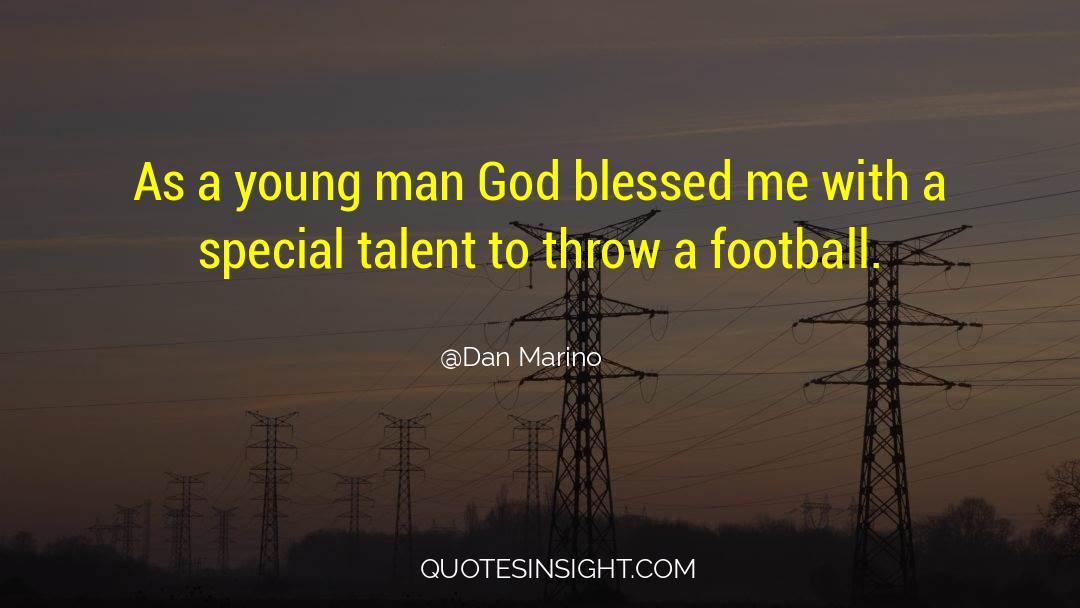 Fallen Man quotes by Dan Marino