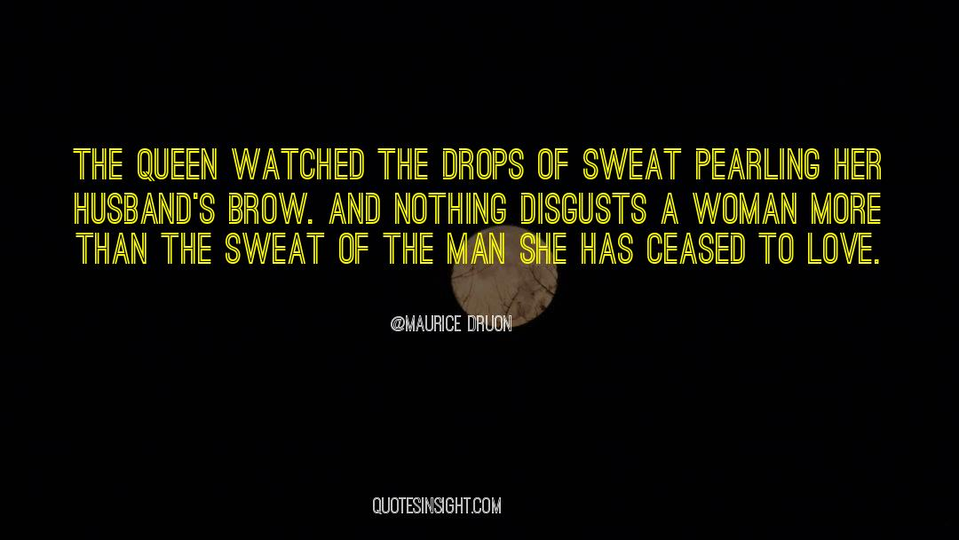Fallen Man quotes by Maurice Druon