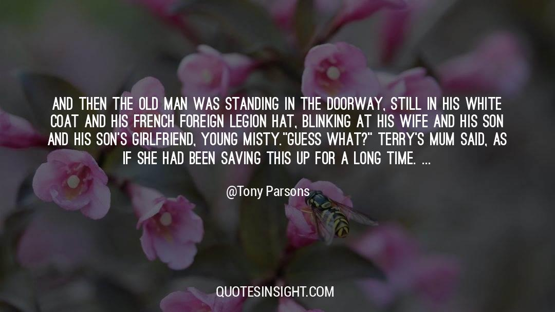 Fallen Man quotes by Tony Parsons