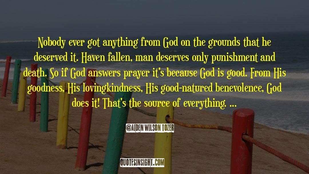 Fallen Man quotes by Aiden Wilson Tozer