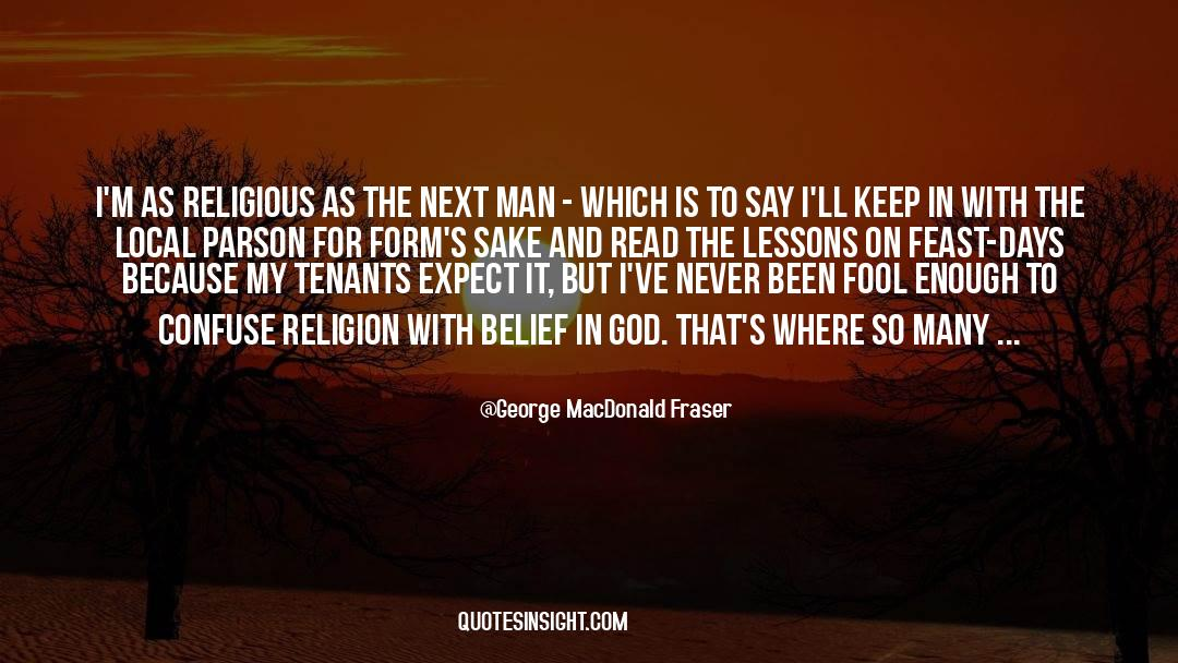Fallen Man quotes by George MacDonald Fraser