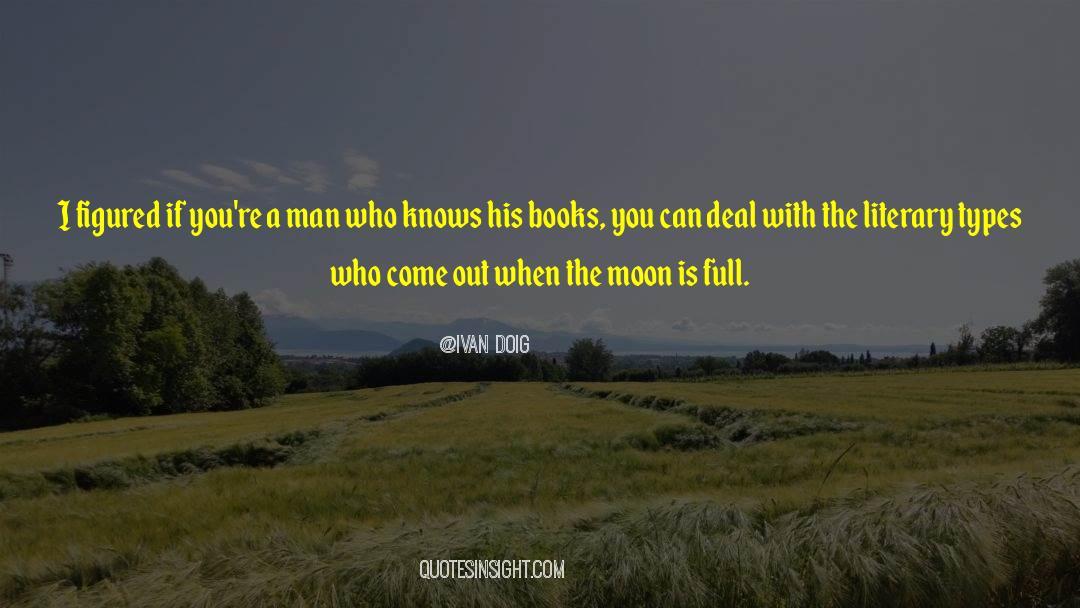 Fallen Man quotes by Ivan Doig