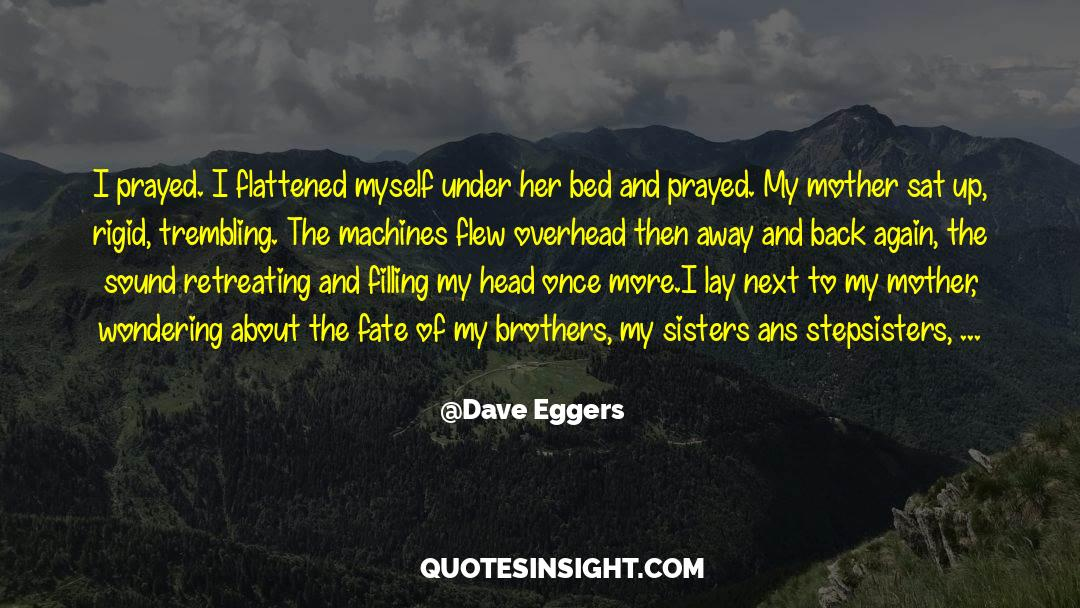 Flattened quotes by Dave Eggers