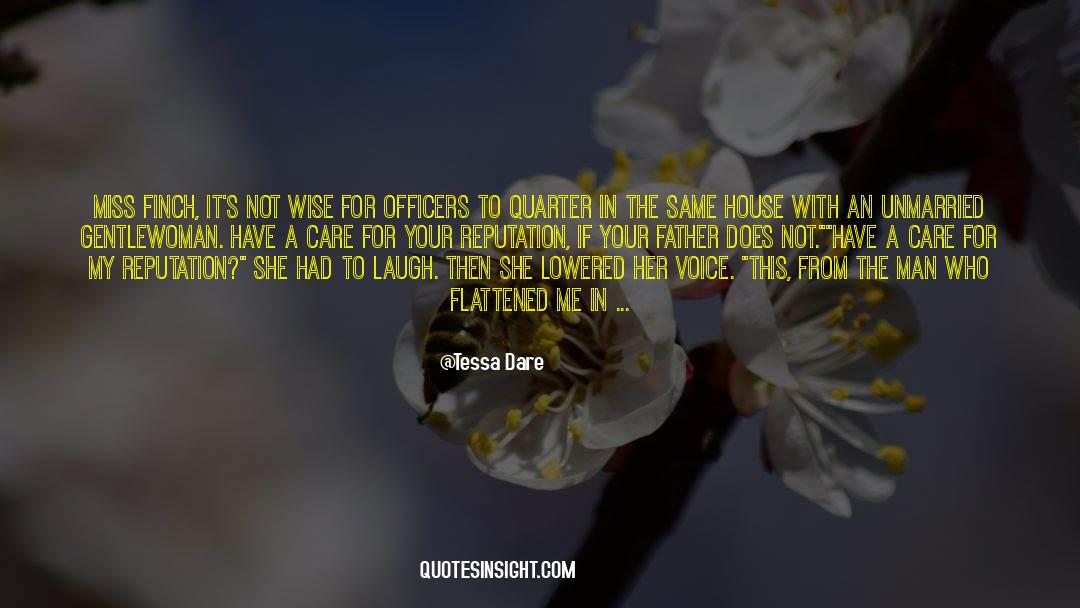 Flattened quotes by Tessa Dare
