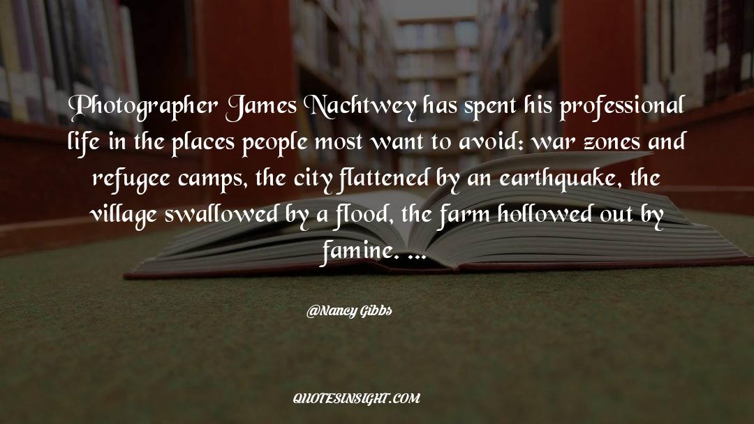 Flattened quotes by Nancy Gibbs