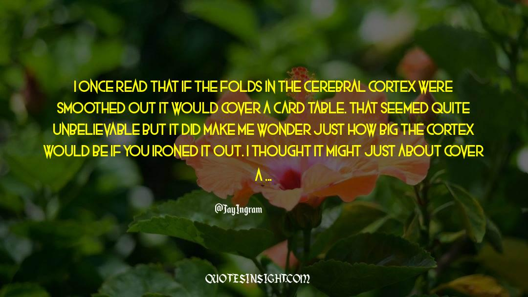 Flattened quotes by Jay Ingram