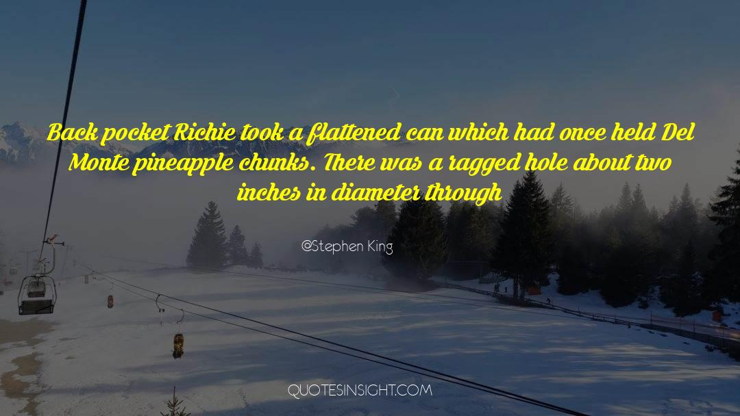 Flattened quotes by Stephen King