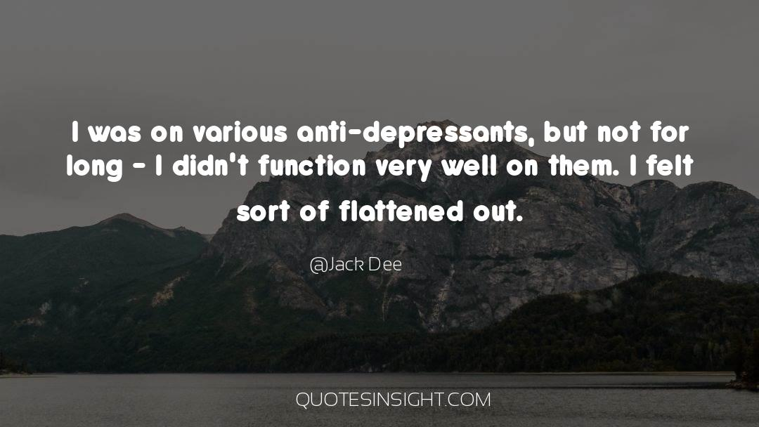 Flattened quotes by Jack Dee