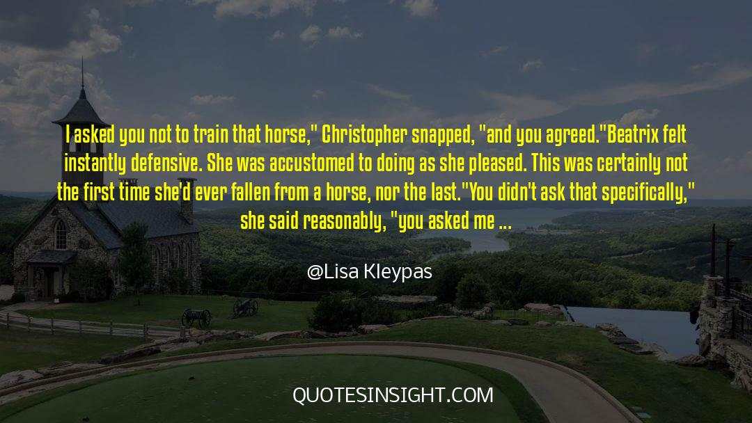 Flattened quotes by Lisa Kleypas