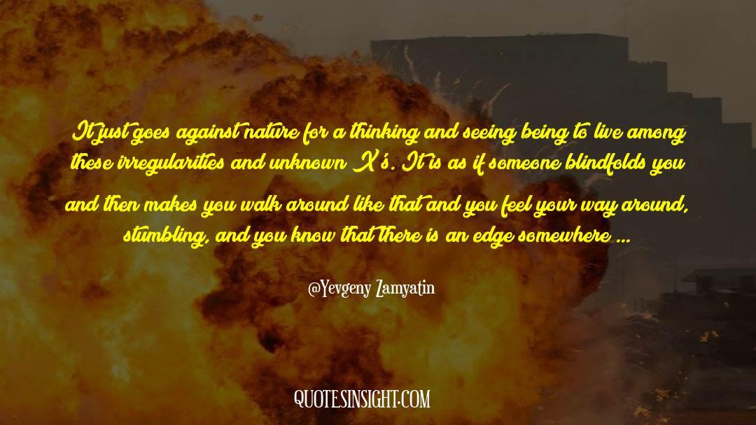 Flattened quotes by Yevgeny Zamyatin