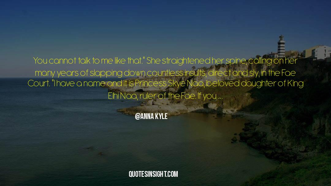 Flattened quotes by Anna Kyle