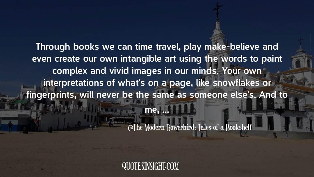 Flattened quotes by The Modern Bowerbird: Tales Of A Bookshelf