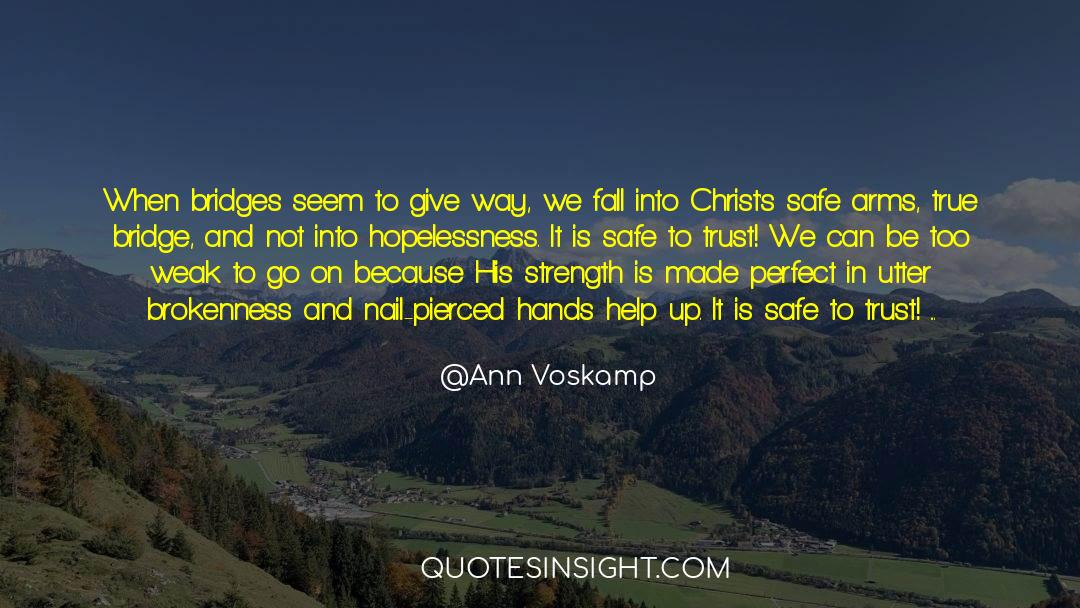 Flattened quotes by Ann Voskamp