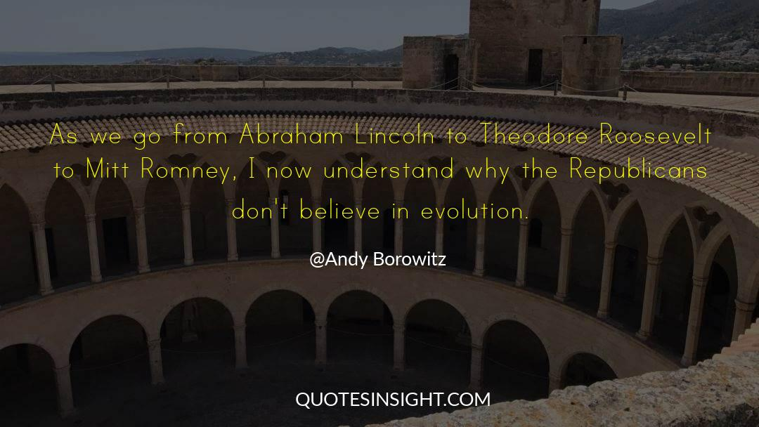 Franklin Roosevelt quotes by Andy Borowitz