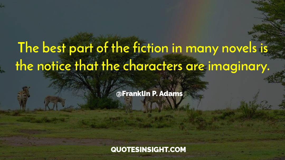Franklin Roosevelt quotes by Franklin P. Adams