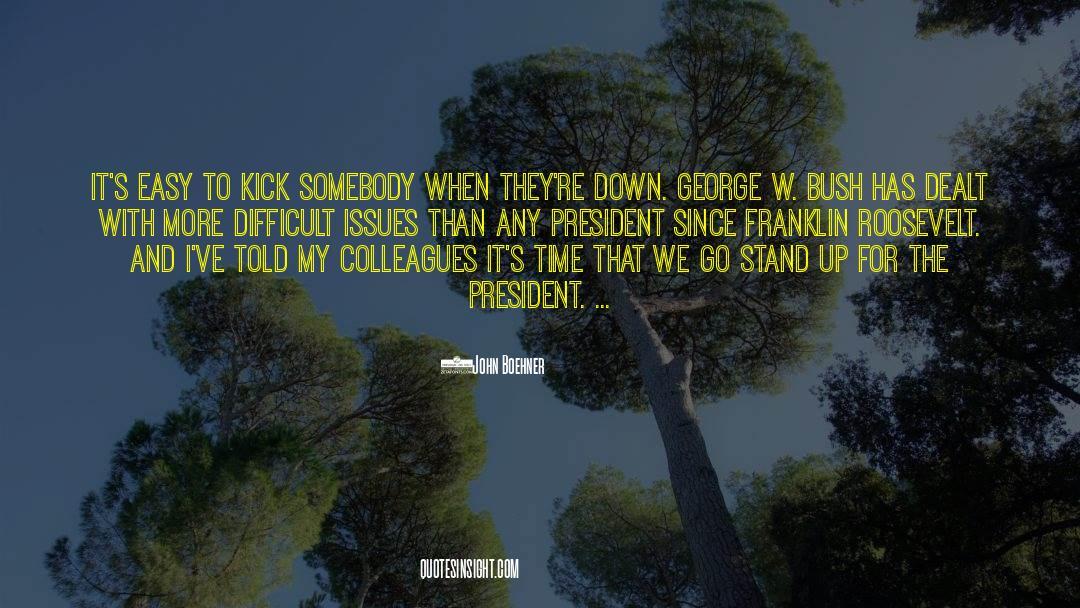Franklin Roosevelt quotes by John Boehner