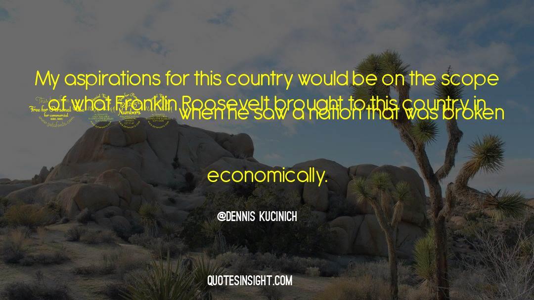 Franklin Roosevelt quotes by Dennis Kucinich
