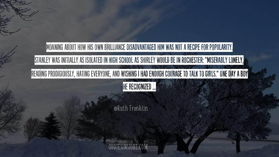 Franklin Roosevelt quotes by Ruth Franklin