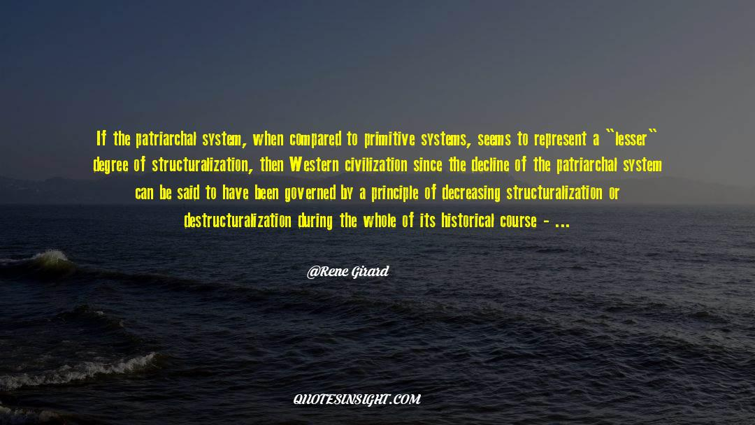 Historical quotes by Rene Girard