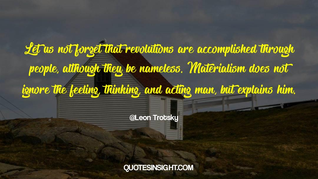 Historical quotes by Leon Trotsky