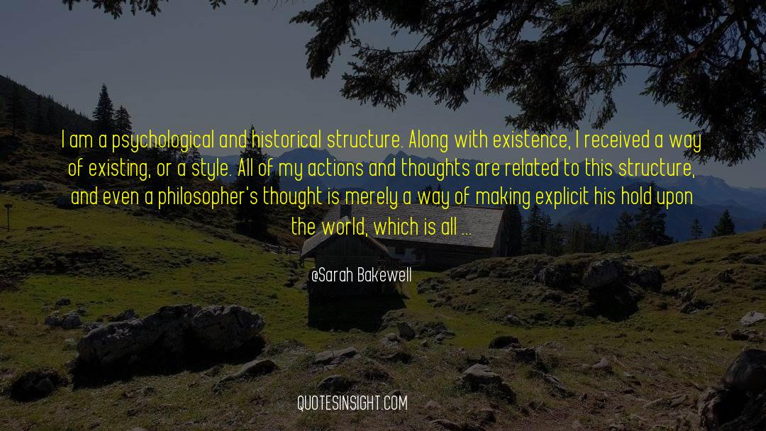 Historical quotes by Sarah Bakewell