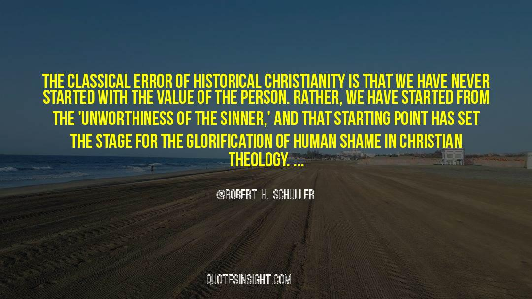 Historical quotes by Robert H. Schuller