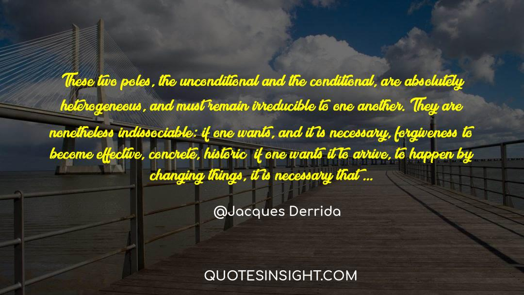 Historical quotes by Jacques Derrida