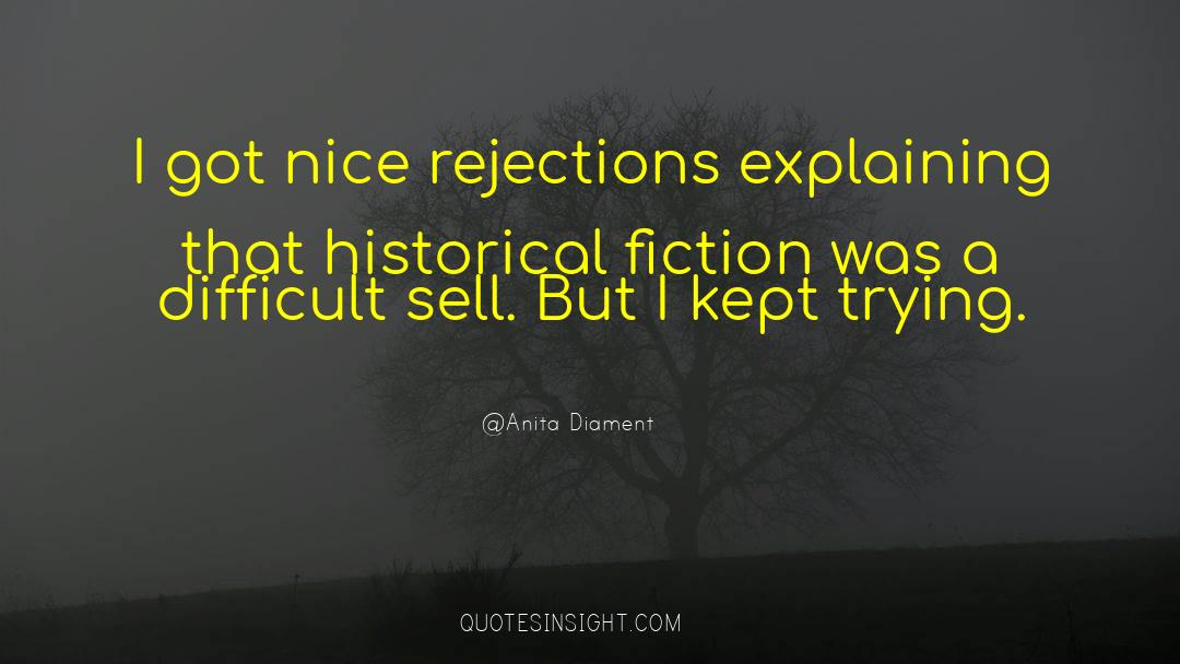 Historical quotes by Anita Diament