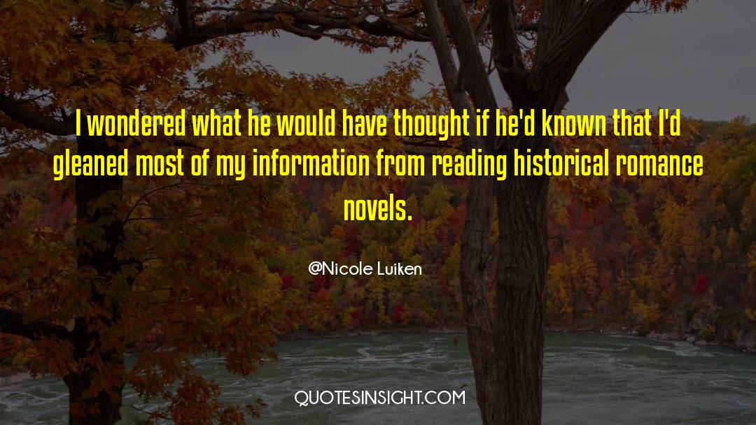 Historical quotes by Nicole Luiken