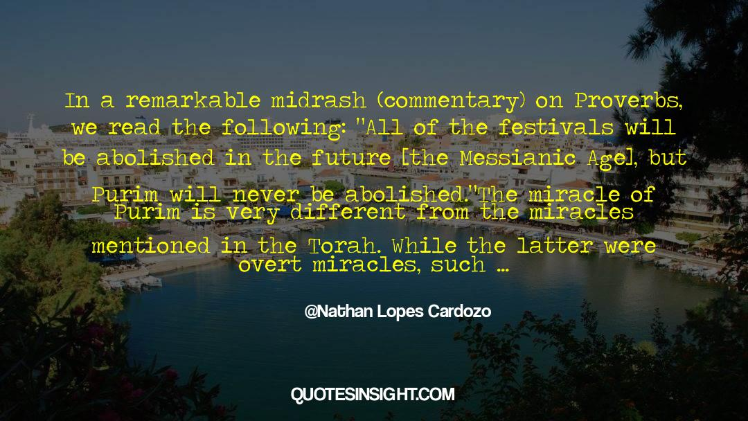 Historical quotes by Nathan Lopes Cardozo