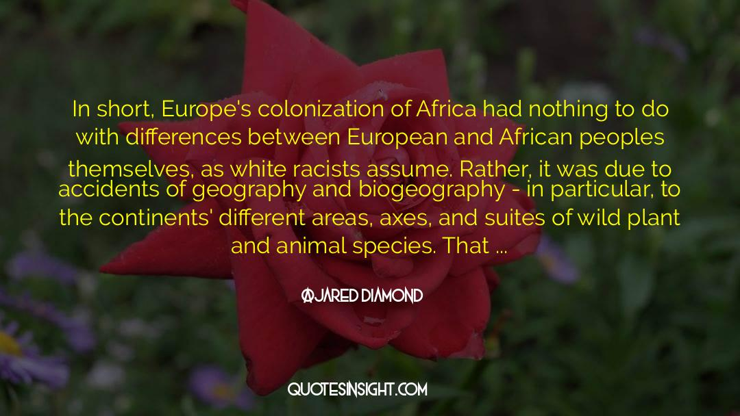 Historical quotes by Jared Diamond