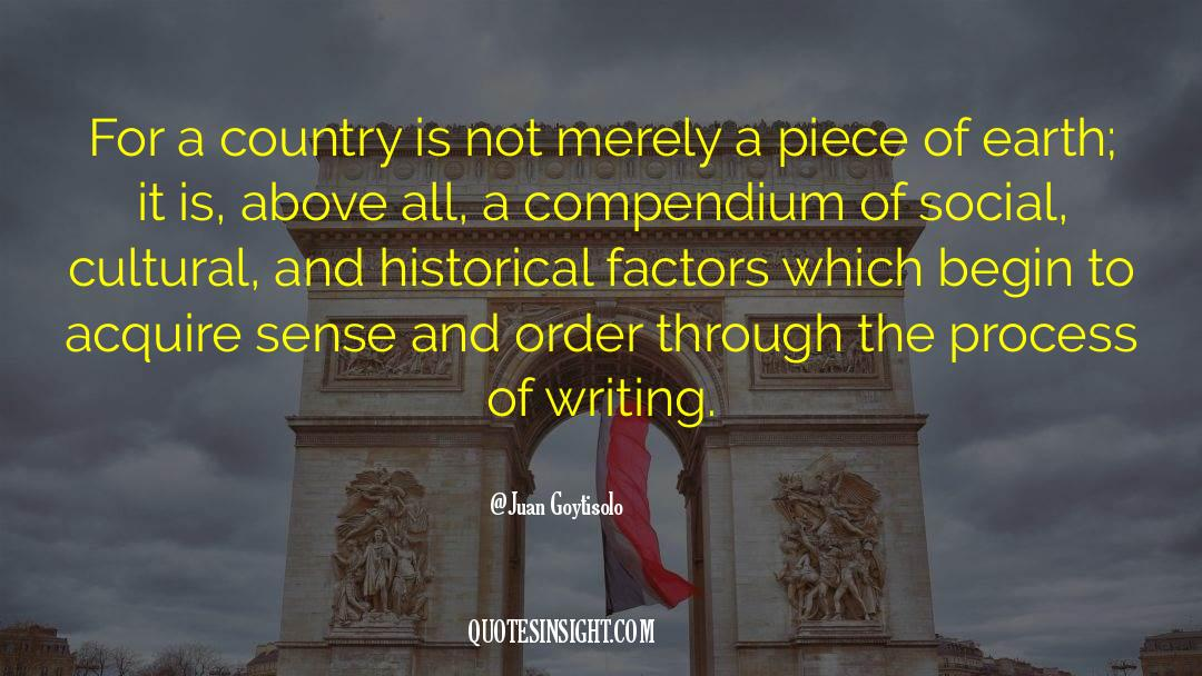 Historical quotes by Juan Goytisolo