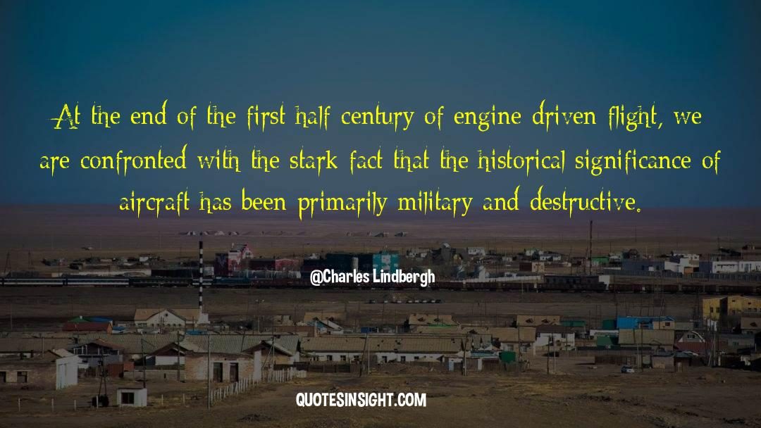 Historical quotes by Charles Lindbergh