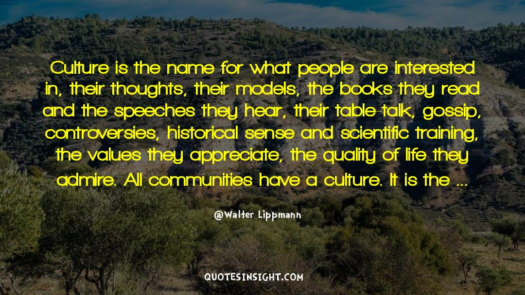 Historical quotes by Walter Lippmann