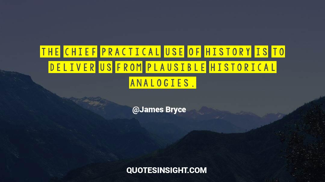 Historical quotes by James Bryce